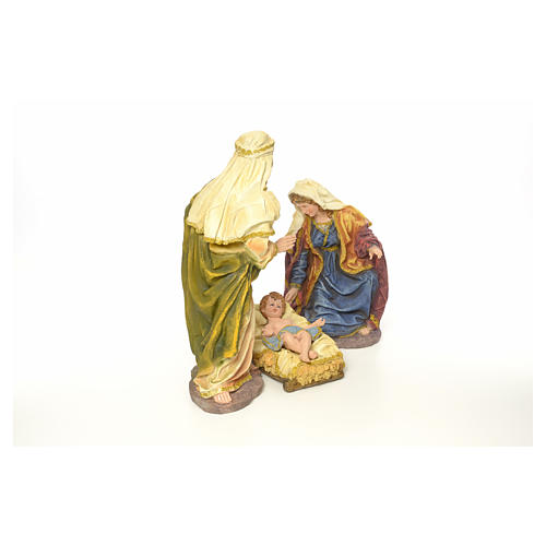 Nativity in resin, 63 cm 4