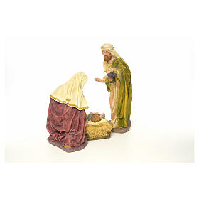 Nativity in resin, 63 cm s3