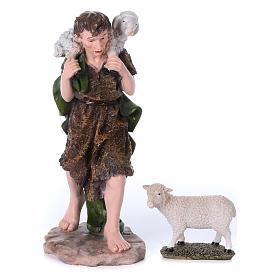 Krippe aus Harz 10 Statuen Mod. color 50 cm s4