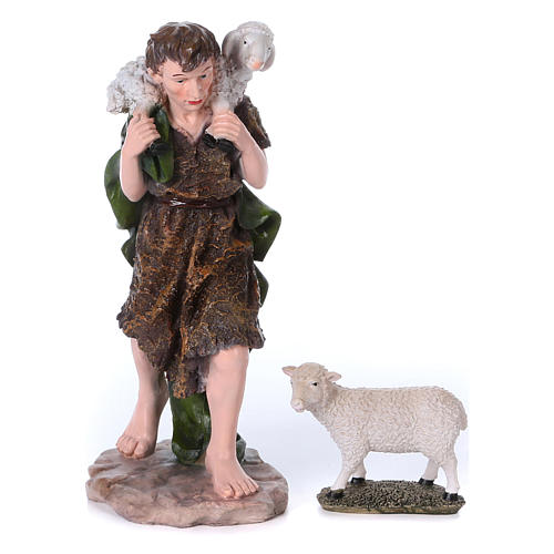 Presepe completo 50 cm resina 10 statue mod. color 4