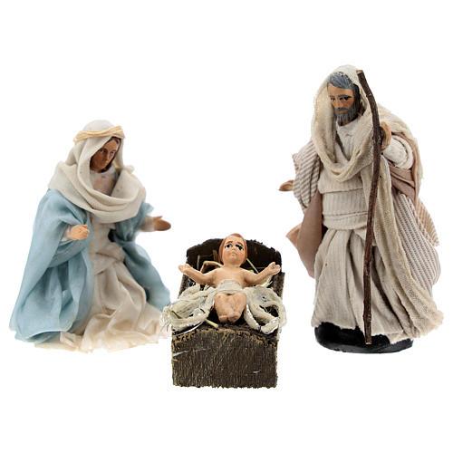 Sainte Famille arabe pour crèche Napolitaine 8 cm 1