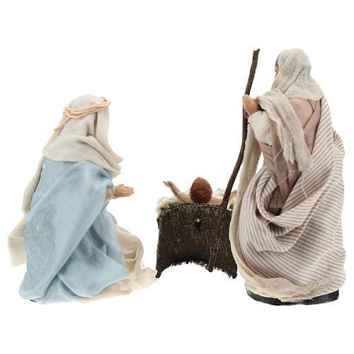Sainte Famille arabe pour crèche Napolitaine 8 cm 5