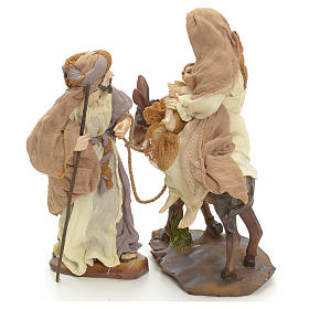 Flight into Egypt 23cm cream and gold s2