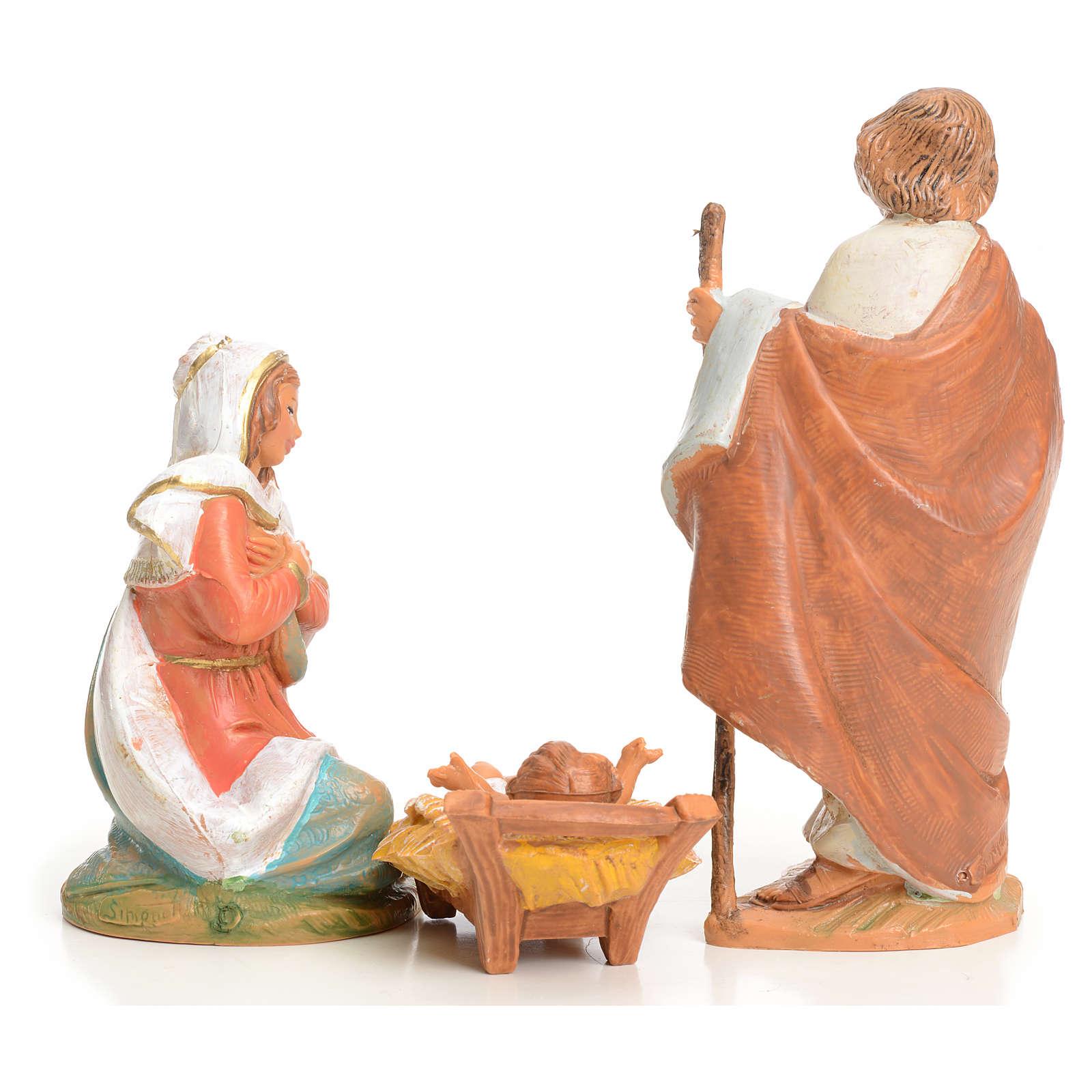 Sainte Famille crèche 9,5 cm Fontanini 3