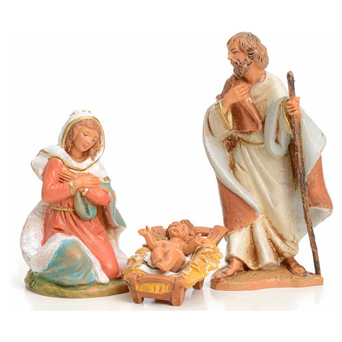 Sainte Famille crèche 9,5 cm Fontanini 1