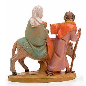 Fuga in Egitto 7x6,5 cm Fontanini s2