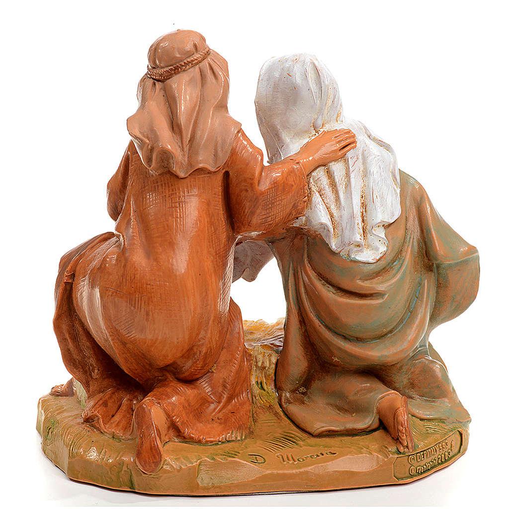 Sacra Famiglia Fontanini cm 12 4