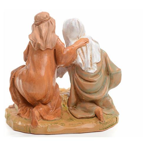 Sacra Famiglia Fontanini cm 12 6