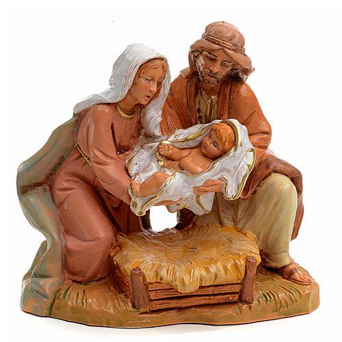 Sacra Famiglia Fontanini cm 12 1