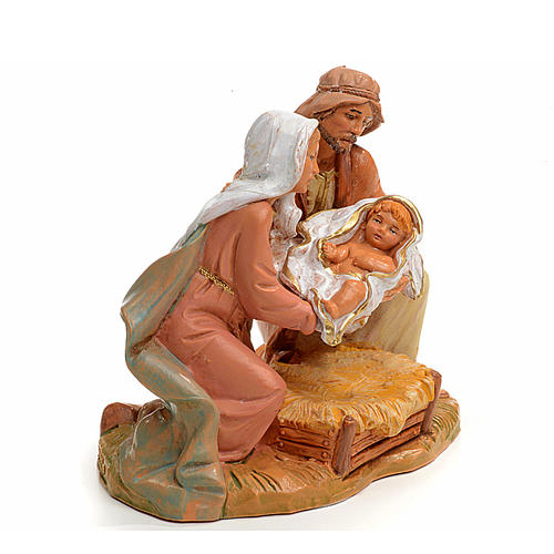 Sacra Famiglia Fontanini cm 12 2