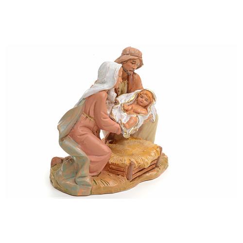 Sagrada Família Fontanini 12 cm 5