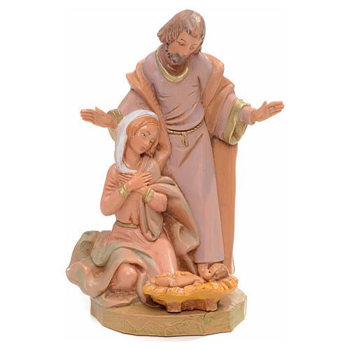 Sainte Famille crèche 15 cm Fontanini 1