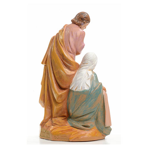 Sainte Famille crèche 20 cm Fontanini 3