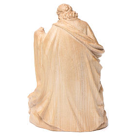 Holy Family group statue in Valgardena wood, natural wax s5
