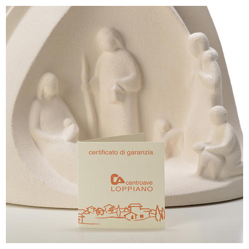 Star Nativity figurine in Refractory clay 20cm 4