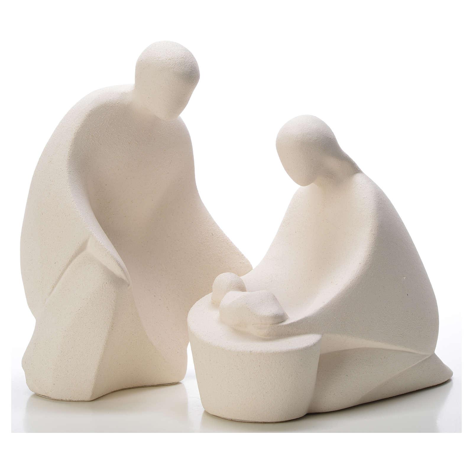 Szopka Navidad glina Ceramica Ave 3