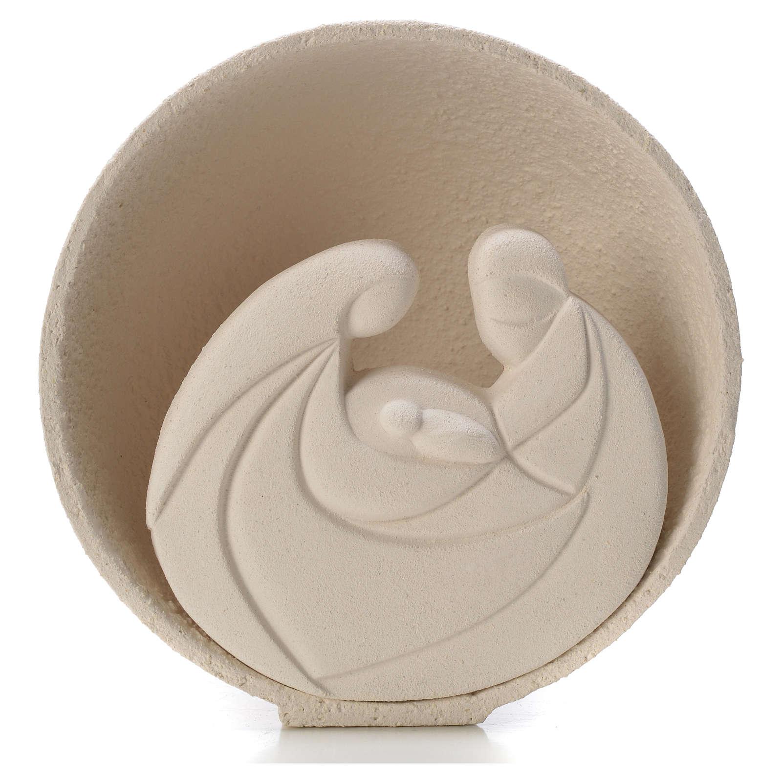 Presepe Perla 14,5 cm argilla refrattaria 3