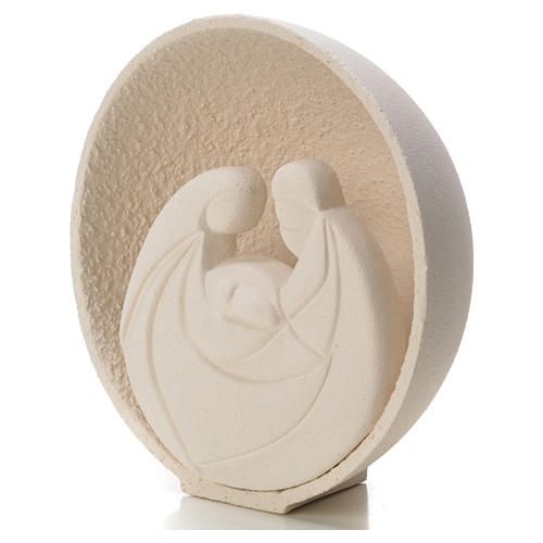 Presepe Perla 14,5 cm argilla refrattaria 2