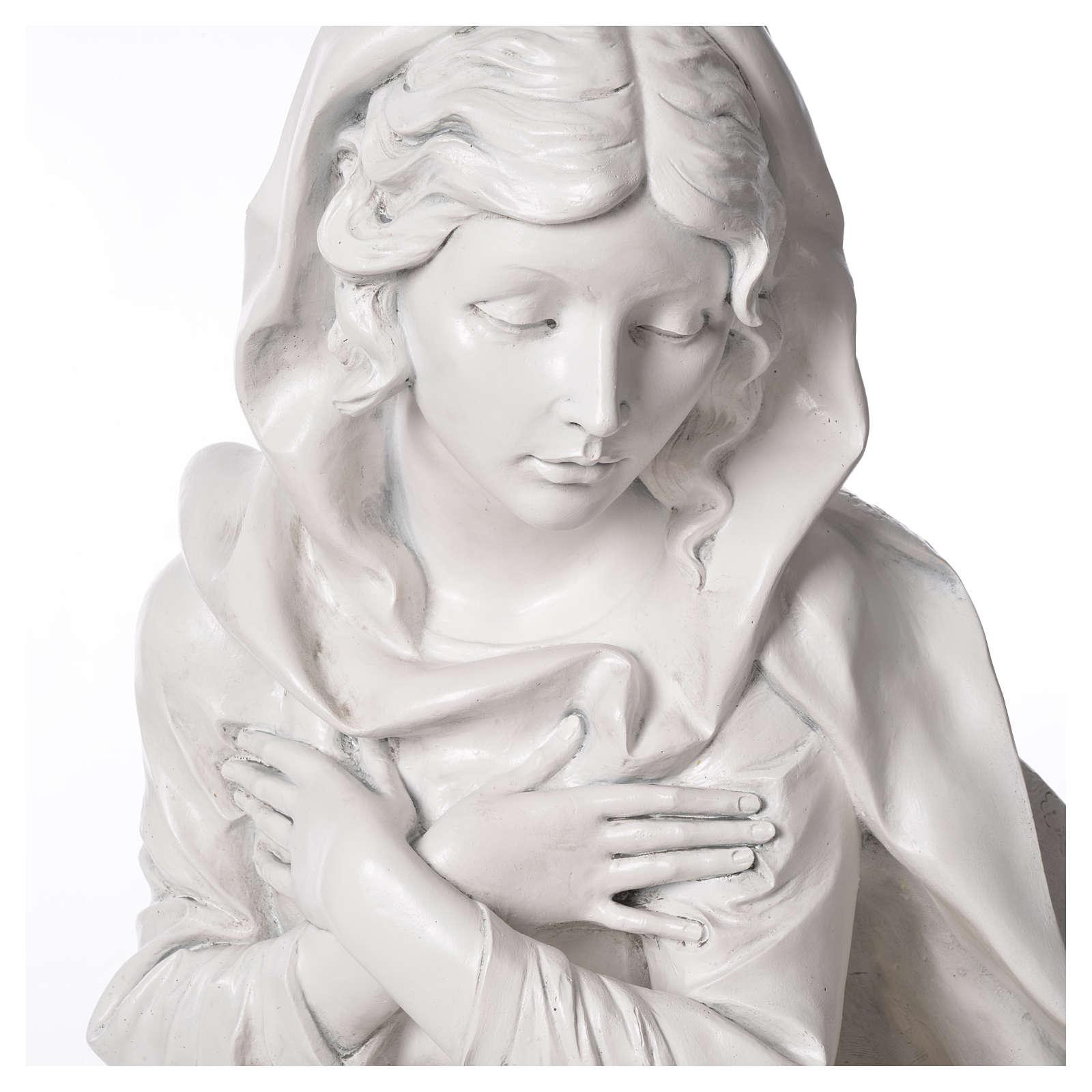 Stock Nacimiento 125 cm resina Fontanini acabado Carrara 3