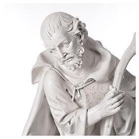 Stock Nacimiento 125 cm resina Fontanini acabado Carrara s4