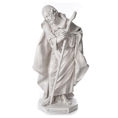 Stock Nacimiento 125 cm resina Fontanini acabado Carrara 2