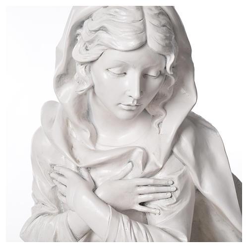 Stock Nacimiento 125 cm resina Fontanini acabado Carrara 7
