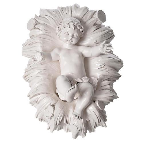 Stock Nacimiento 125 cm resina Fontanini acabado Carrara 8
