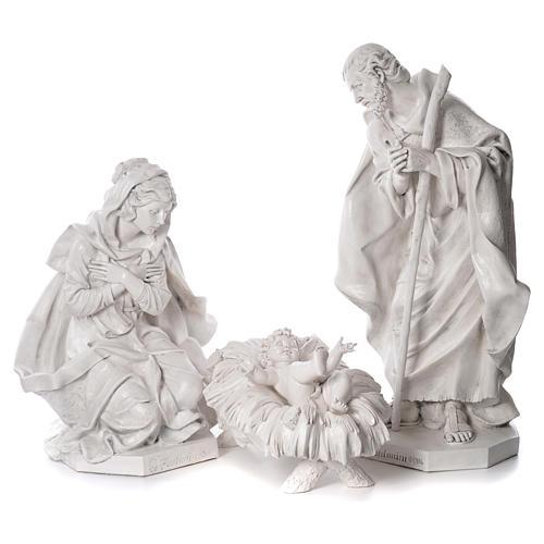 Natività 125 cm resina Fontanini fin. Carrara 1
