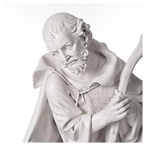 Natività 125 cm resina Fontanini fin. Carrara 8