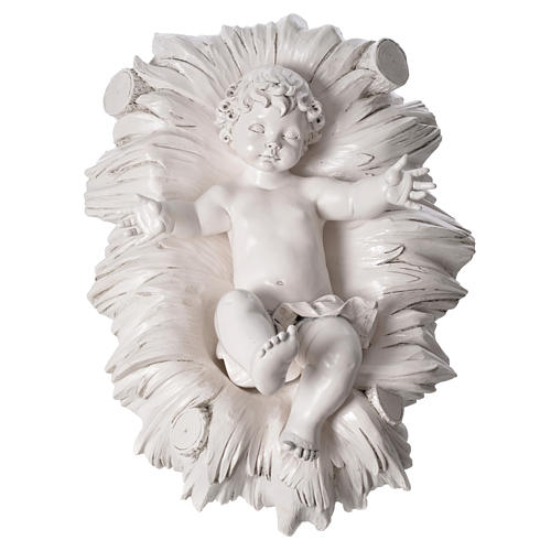 STOCK Natività 125 cm resina Fontanini fin. Carrara 8