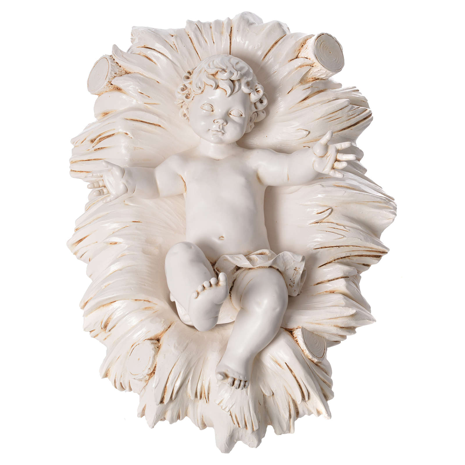Natività 125 cm resina Fontanini fin. Siena 3