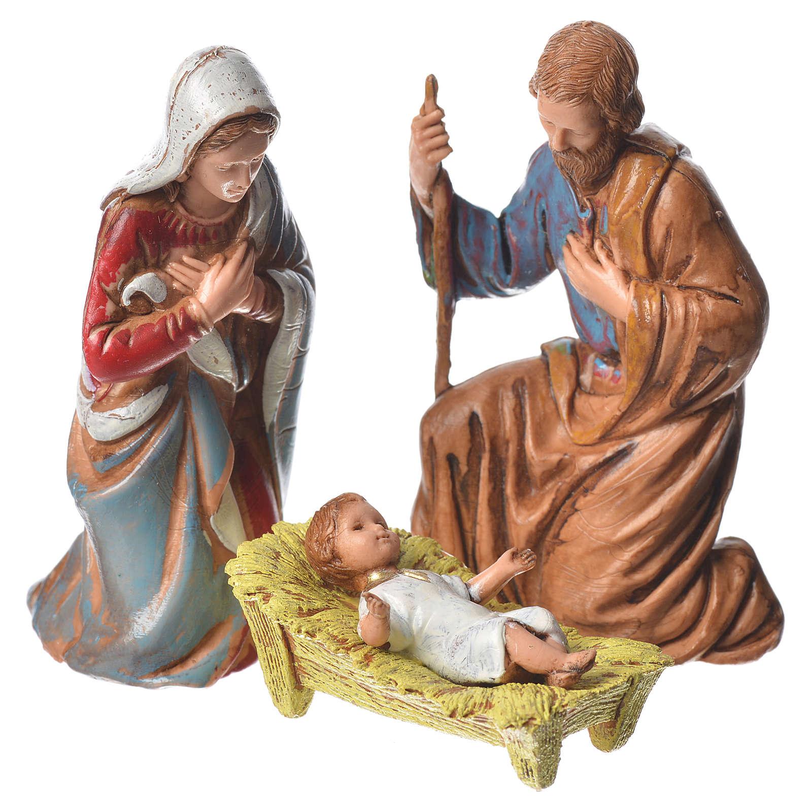 Natividad, 6 pdz, para belén de Moranduzzo con estatuas de 8 cm 4