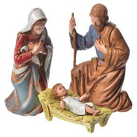 Natividad, 6 pdz, para belén de Moranduzzo con estatuas de 8 cm s2