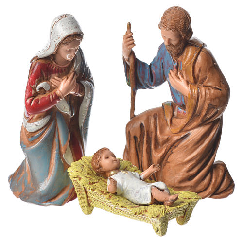 Natividad, 6 pdz, para belén de Moranduzzo con estatuas de 8 cm 2