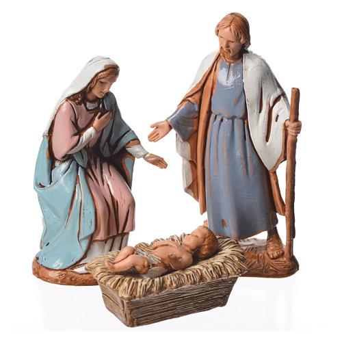 Nativity Scene figurines by Moranduzzo 6.5cm, Arabian style, 6 pieces 2