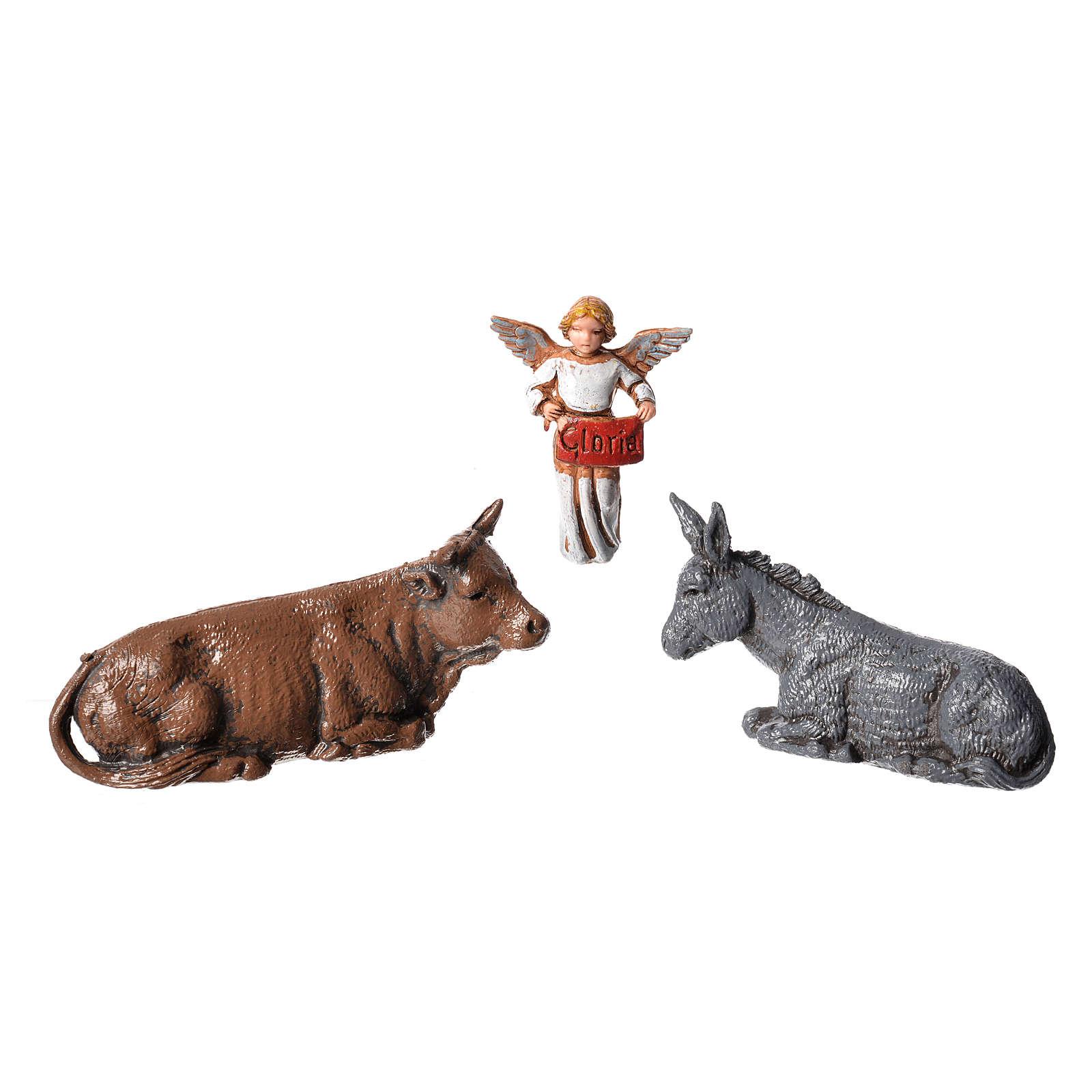 Nativity Scene figurines by Moranduzzo 6cm, 6 pieces 4