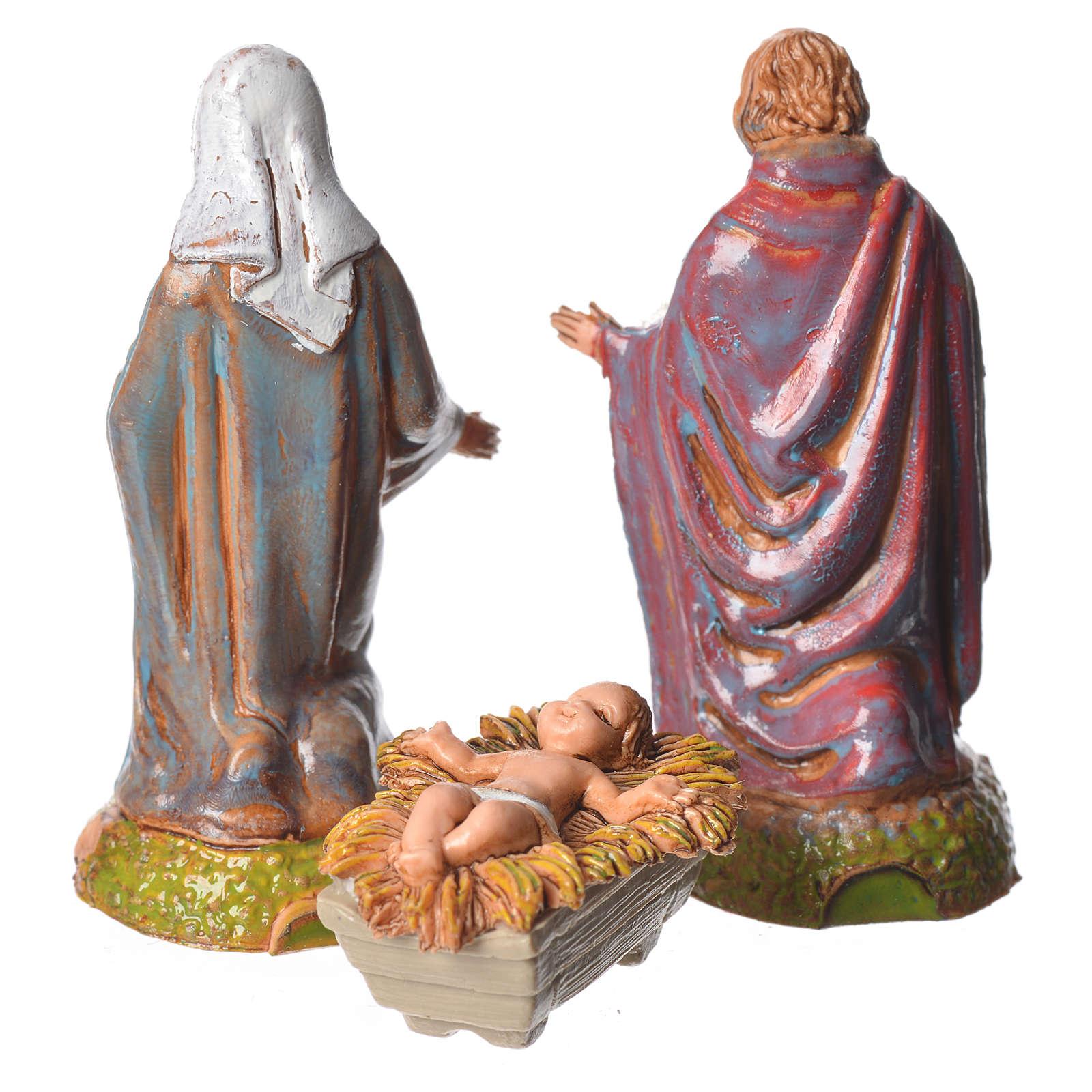 Nativité crèche 6 cm Moranduzzo 3 pcs 4