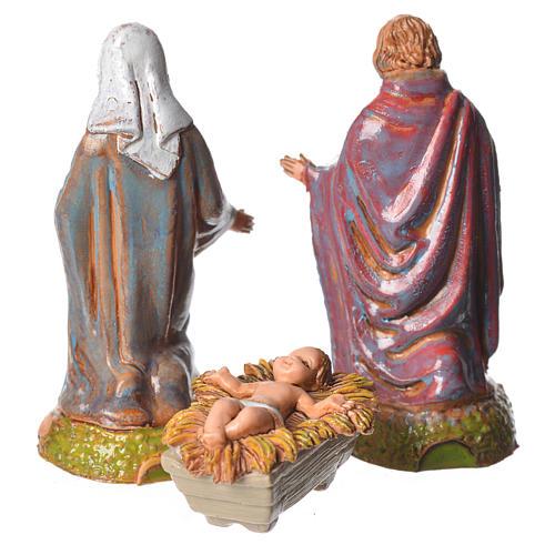 Nativité crèche 6 cm Moranduzzo 3 pcs 2