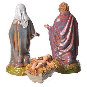 Nativity Scene figurines by Moranduzzo 6cm, 3 pieces s2