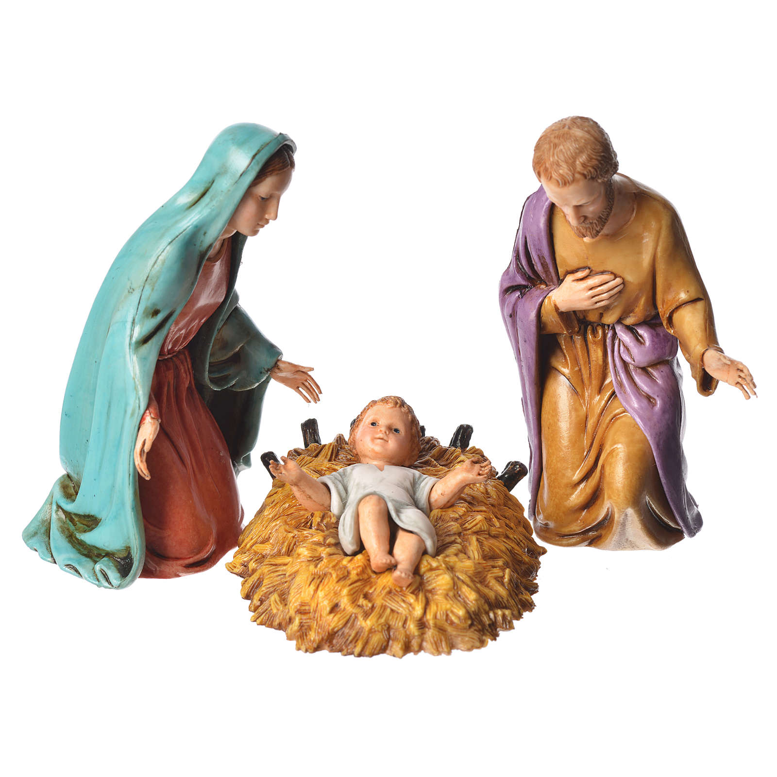Nativity scene with 6 pieces 12cm by Moranduzzo 4