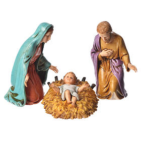 Nativity scene with 6 pieces 12cm by Moranduzzo s2