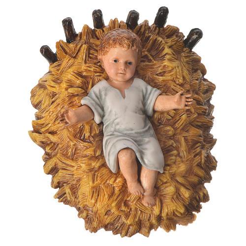 Nativity scene with 6 pieces 12cm by Moranduzzo 3