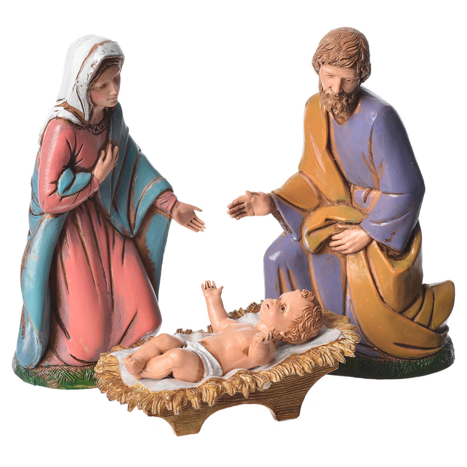 Moranduzzo nativity 12cm, 6 figurines 4
