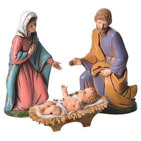 Moranduzzo nativity 12cm, 6 figurines s2