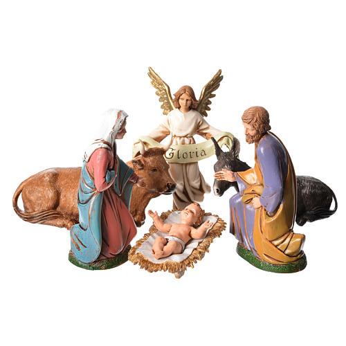 Nacimiento 12 cm 6 figuras Moranduzzo 1