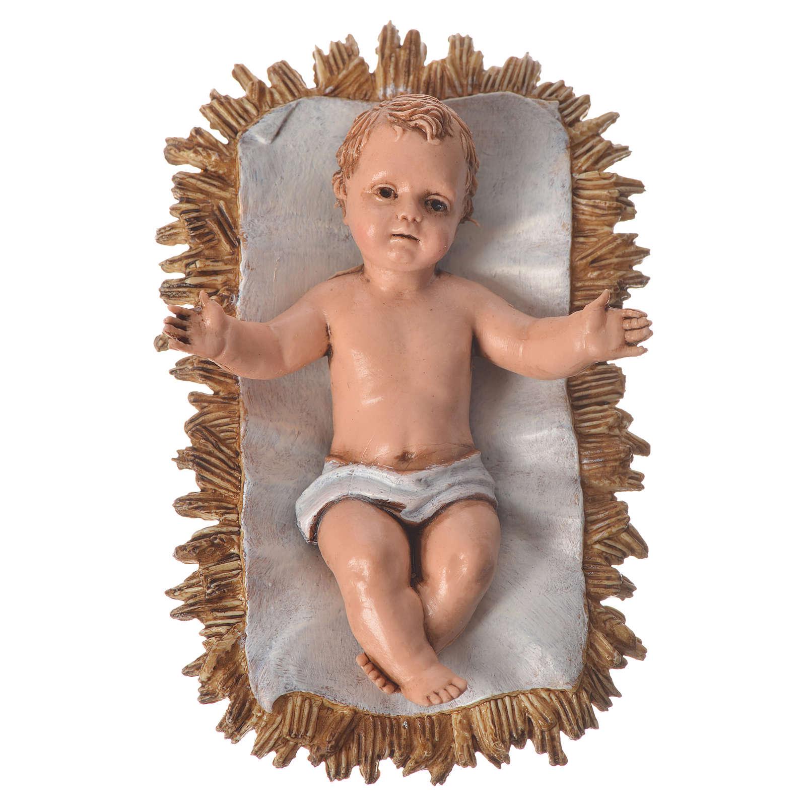 Nativité pour crèche de 12 cm 6 pcs Moranduzzo 4