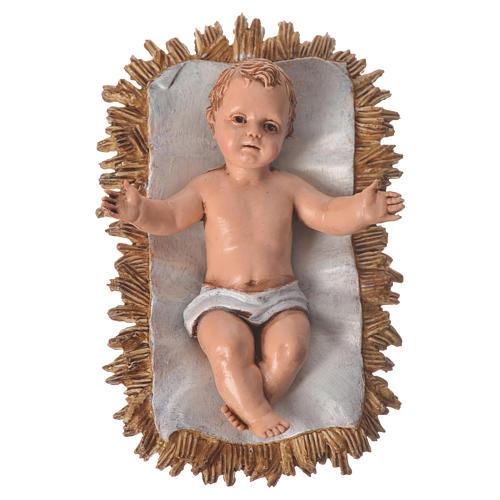 Nativité pour crèche de 12 cm 6 pcs Moranduzzo 3