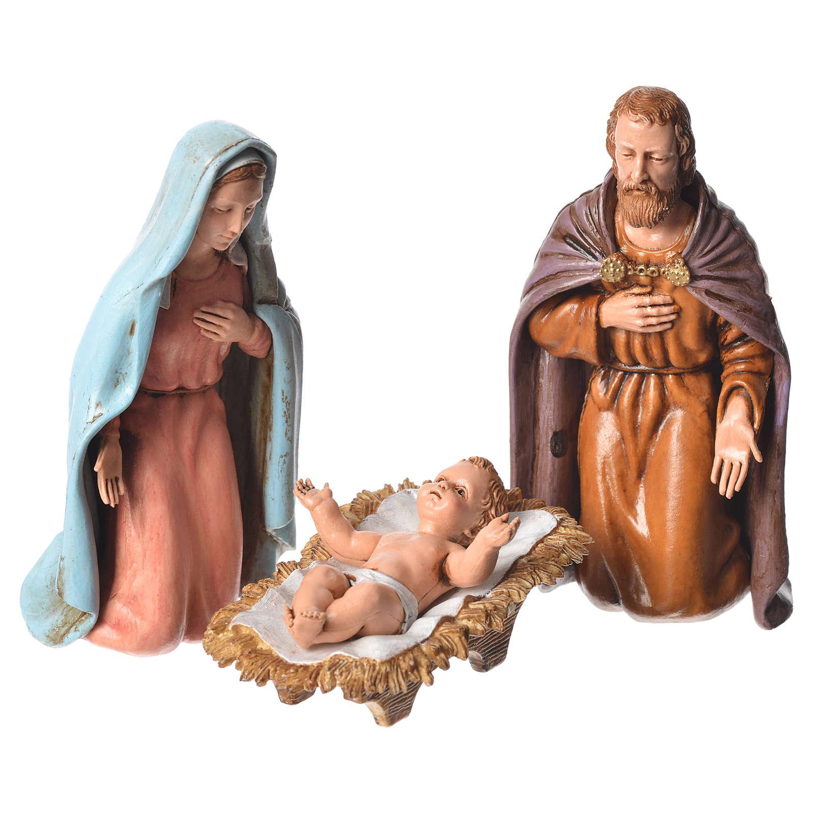 Moranduzzo nativity scene 12cm, 6 pieces 4