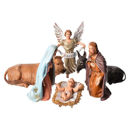 Moranduzzo nativity scene 12cm, 6 pieces 1