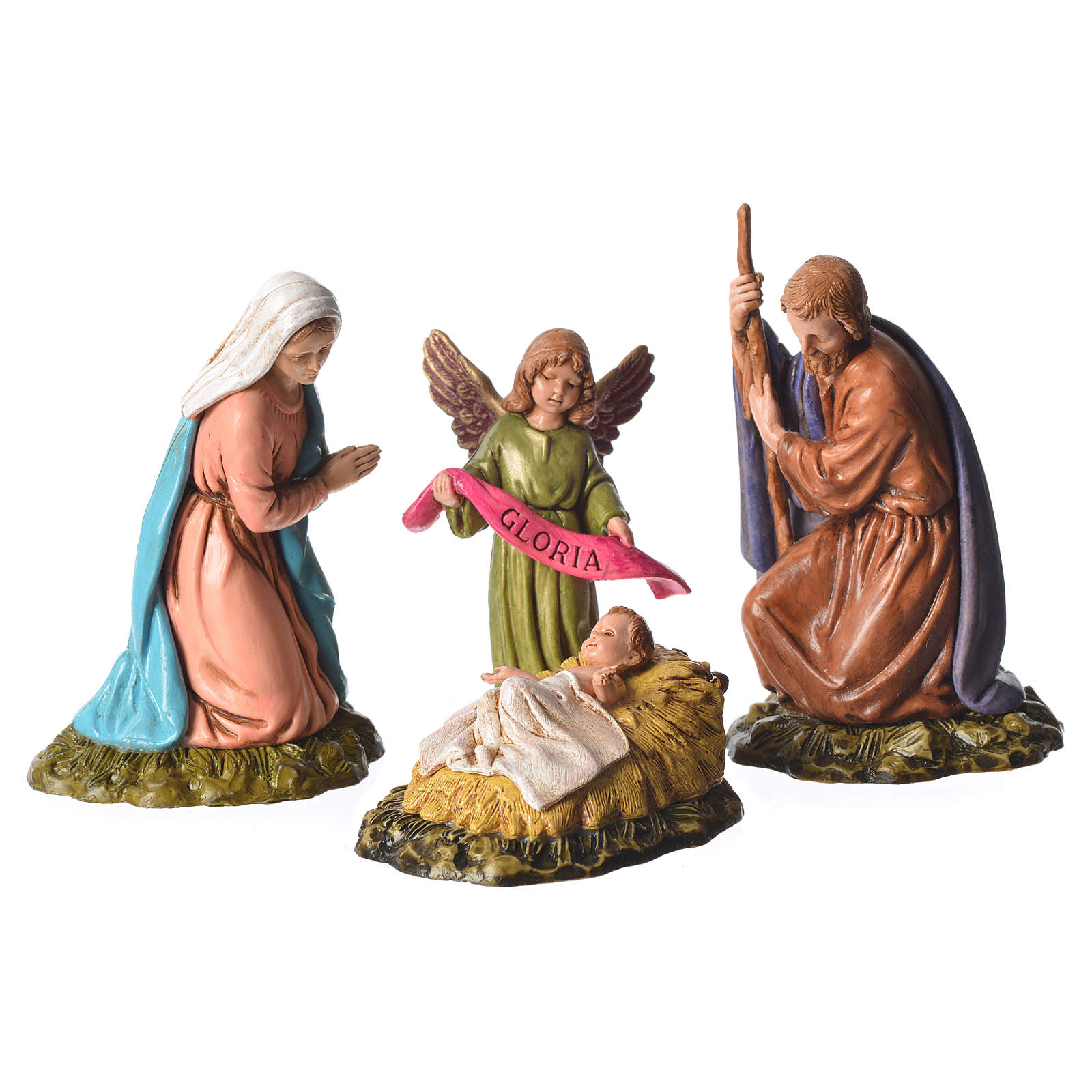 Moranduzzo nativity scene 11cm, 6 pieces 4